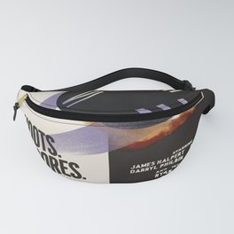 Threat Level Midnight Black Fanny Pack