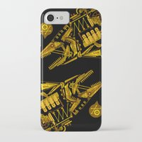 cyberpunk iPhone & iPod Cases featuring Cyberpunk fish by Oceloti