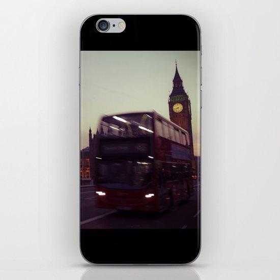 Big Ben at dusk, London   cinematic iPhone & iPod Skin