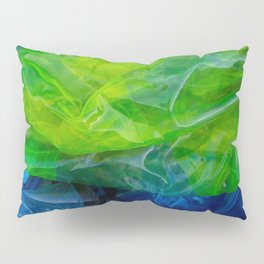 plastic yellow and blue Pillow Sham