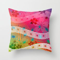 hawaii band Throw Pillow