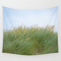 dune Wall Tapestries featuring Dune Grass by A Wandering Soul