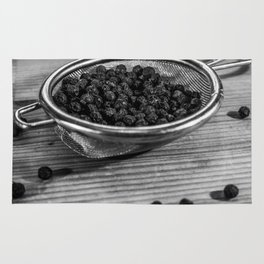 Peppercorns. Rug