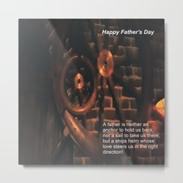 Happy Father's Day Metal Print
