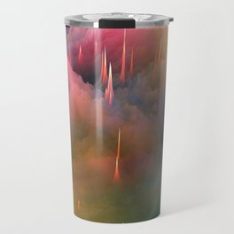 Snow Cone Drizzled With Cotton Candy Syrup Travel Mug