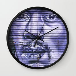 Music Icon Urban Street Art Graffiti Wall Clock