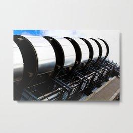 Lloyds Of London building Metal Print