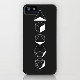 Platonic iPhone Case