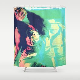 The Passionate Immigrant Shower Curtain