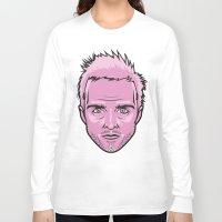 jesse pinkman Long Sleeve T-shirts featuring Jesse Pinkman by Joshua Ariza