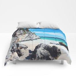 Tulum Mexico Comforters