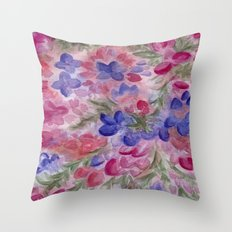 The Color of Death Throw Pillow