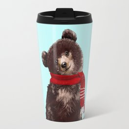 Baby bear in Christmas Mood Travel Mug