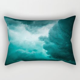 Underwater perturbation Rectangular Pillow