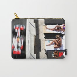 Monaco Contrasts Carry-All Pouch