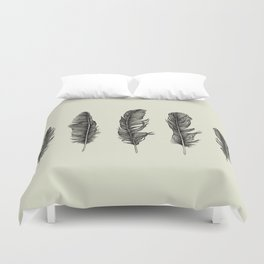 Lucky Five Feathers Duvet Cover