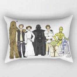 We are family Rectangular Pillow