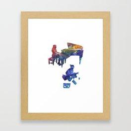 Harmony Through Color Framed Art Print