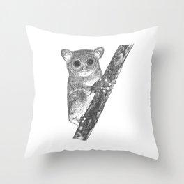 Tarsiers Throw Pillow
