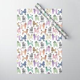 Poodles by Veronique de Jong Wrapping Paper