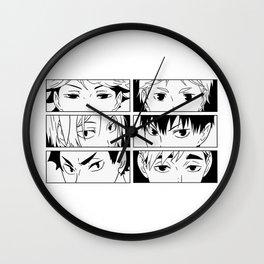 Pretty Setter squad Wall Clock