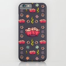 Pink Blossoms Slim Case iPhone 6s