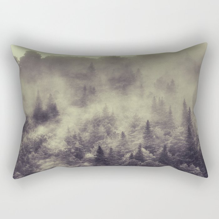 """""""Into the woods"""" Love the forests Rectangular Pillow"""