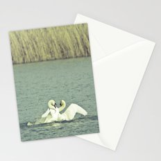 Mute Swans Stationery Cards