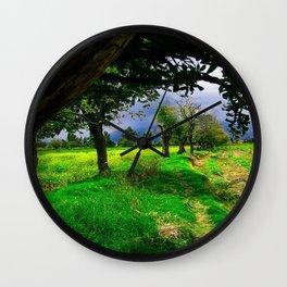 Farm Land Wall Clock