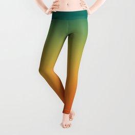Colorful Trendy Gradient Pattern Leggings