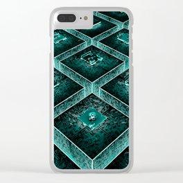 AzTECH Temple Clear iPhone Case
