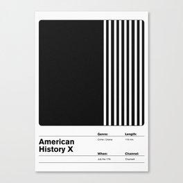 American History X Canvas Print