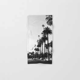 Los Angeles Black and White Hand & Bath Towel