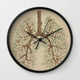 Breathe! Wall Clock