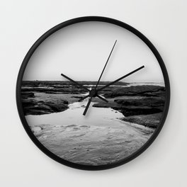Back to the Sea Wall Clock