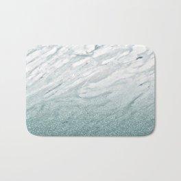 Calacatta Verde glitter gradient Bath Mat