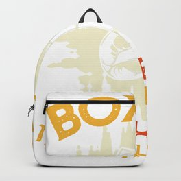 Boxing it's cheaper than theraphy Backpack