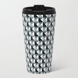 3D pyramids Travel Mug