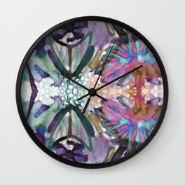 Psychedelic Positive Notes Mini Wall Clock
