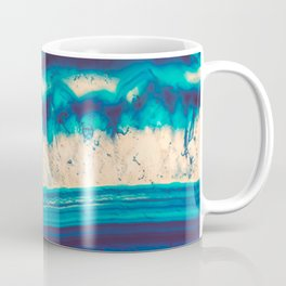 Blue Agate Water Element Coffee Mug