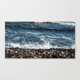 Stone Crash Canvas Print