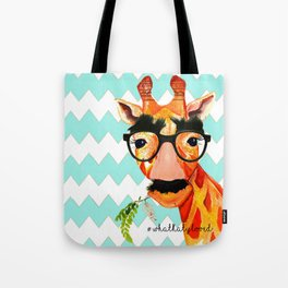 'I don't see no giraffe' Tote Bag