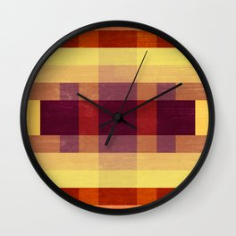 Autumn Winds Abstract Wall Clock