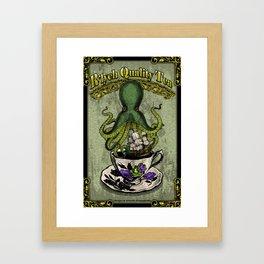 R'lyeh Quality Tea Framed Art Print