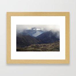 //01-06 FIORDLAND Framed Art Print