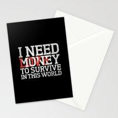 Money & Love Stationery Cards