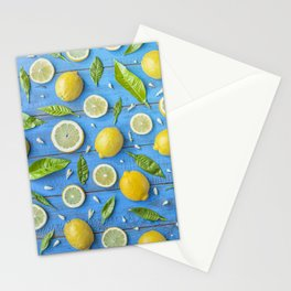 Fruits and leaves pattern (32) Stationery Cards