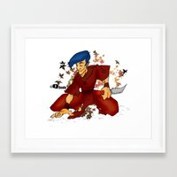 rogue Framed Art Prints featuring Rogue by soulseraph