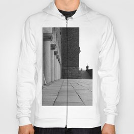 Colonnade in the Town Hall of Stockholm. Hoody