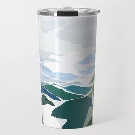 green mountains Travel Mug